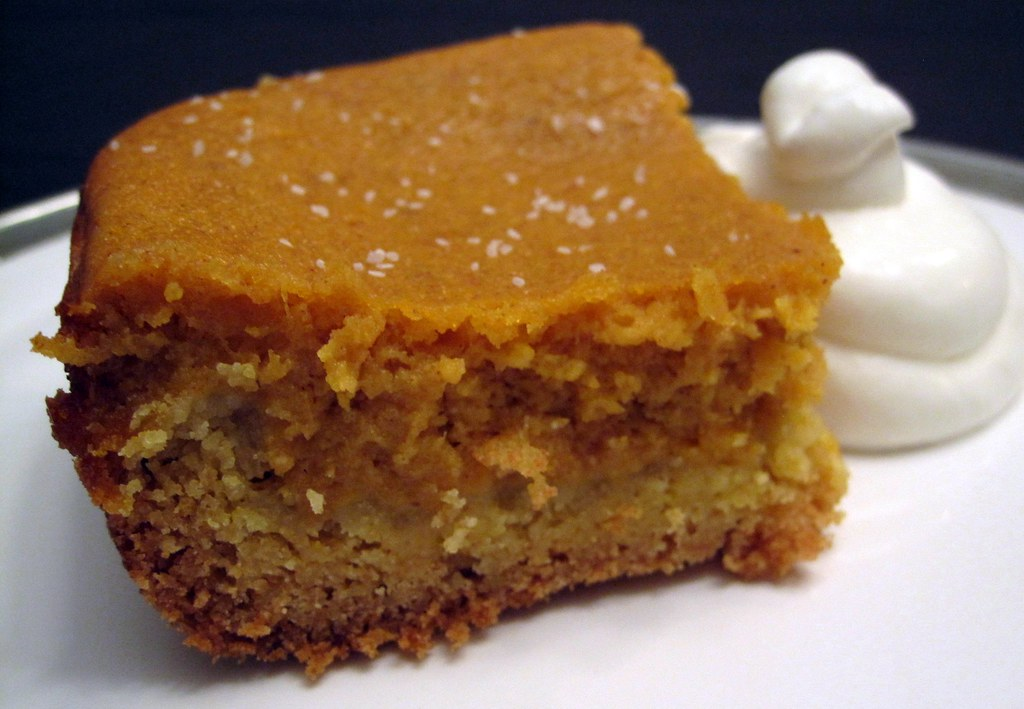 Much Depends on Dinner: pumpkin gooey butter cake