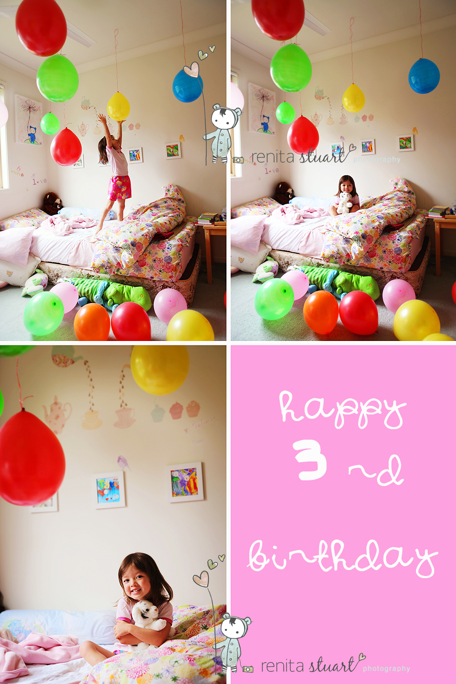 Tavé's 3rd birthday