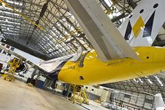 Monarch Boeing 757 (Monarch Aircraft Engineering) Tags: aircraft engineering aeroplane repair maintenance monarch aerospace mro overhaul