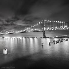 Bay bridge @ night (Cedpics) Tags: sf sanfrancisco ca bridge baybridge bayarea pont ba sfbay californie