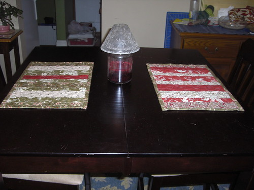 Christmas placemats