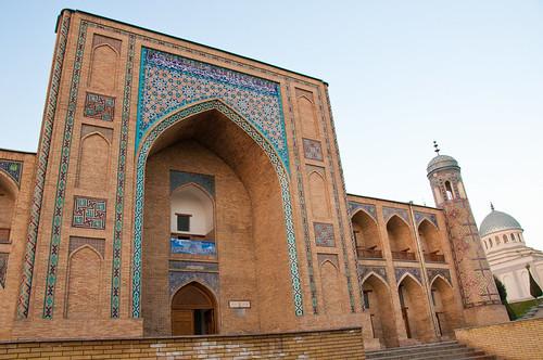 Kukeldash Madrassa in Tashkent, Uzbekistan