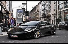 Lamborghini Murcielago LP640 (ThomvdN) Tags: november photoshop germany nikon automotive thom düsseldorf vr 2010 murcielago lightroom carphotography lamborgini 18105 cs3 lp640 köningsallee d5000 bmjtcrew thomvdn