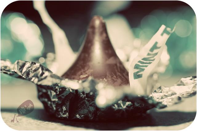 Mint Truffle Hershey's Kiss
