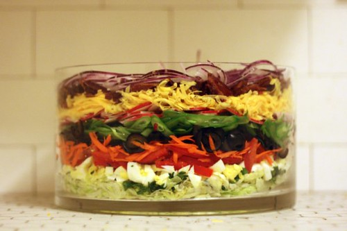 eleven-layer salad