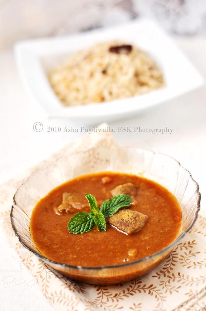 Mutton Dhansak 1