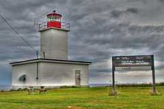 Cape St. Mary Lighthouse (crowemedia) Tags: ocean lighthouse storm nature clouds landscape novascotia hdr capestmarys wbnawcnns