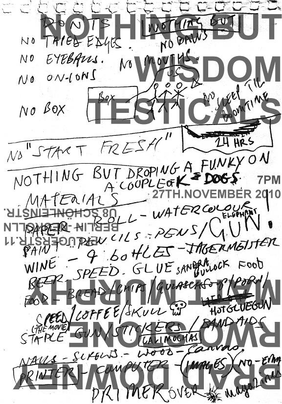 Flyer Testicals