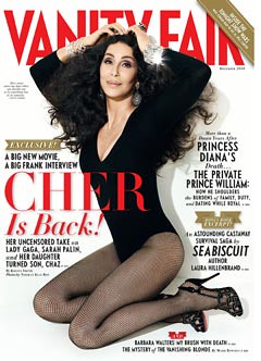 Cher on Van Fair cover