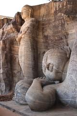 - Polonnaruwa, Kalu Gal Vihara - (dcem) Tags: bouddha srilanka polonnaruwa serendib 400d canonefs1855mm3556 kalugalvihara