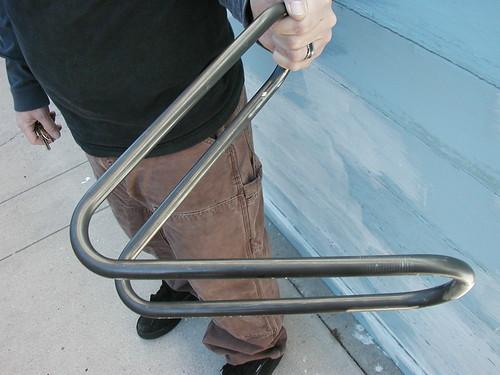 Looptail BMX rearend