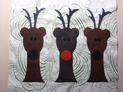 Christmas Reindeer heads finished
