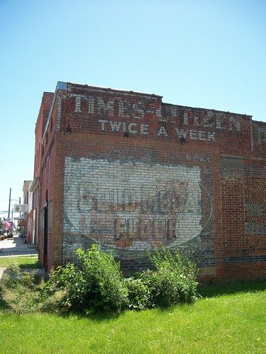 Gold Medal and Bull Durham Ghost Sign