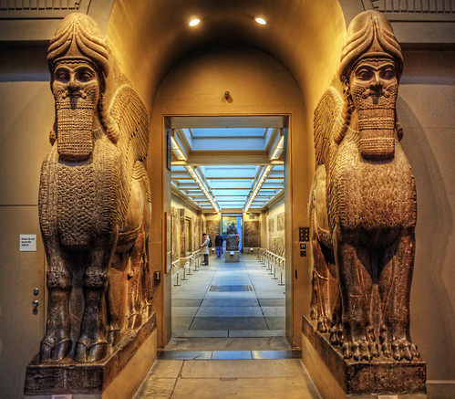 Assyrian statues - British Museum