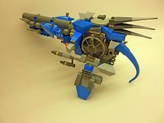 P1030181 (SuperHardcoreDave) Tags: lego space spaceship starcraft spacecraft starship moc starfighter spacefighter