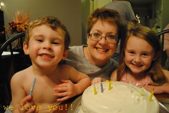 mom's birthday!
