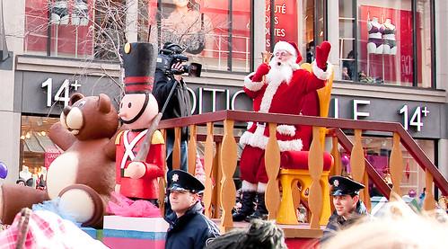 Milana's B-day - Santa Parade 414
