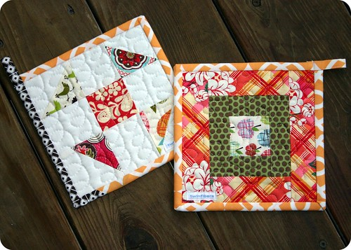 Potholders - set 2