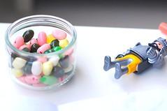 Jelly Bellies in a Jar