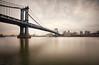 The Manhattan Bridge (chris lazzery) Tags: newyorkcity newyork brooklyn manhattanbridge eastriver 5d canonef1740mmf4l leefilters bw30nd