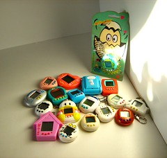 Tamagotchi Digital Pet Toy Collection (Kelvin64) Tags: pet pets digital toy toys model 1996 models hobby collection collections electronics tamagotchi hobbies electronic 1990s 90s bandai pastime pastimes tamagotchis