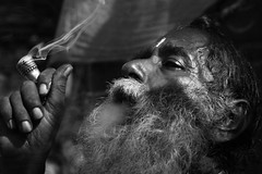 Smoking Ganja | Tirathgarh (Rohit Markande) Tags: india freedom weed shrine indian smoke smoking shiva bliss addiction orissa sadhu ganja chattisgarh tirathgarh jagdalpur bastar orissa40d