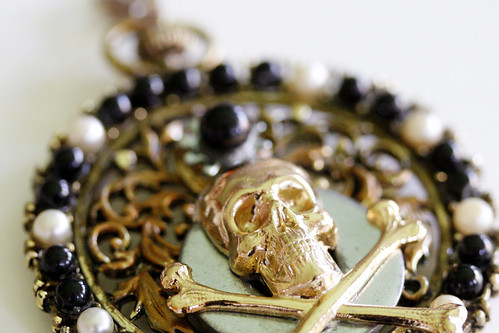 Skull and Bones Custom Pirate Necklace