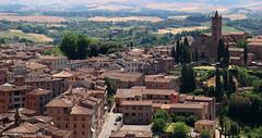 Siena (PJ Swan Photography) Tags: siena tuscany toscana italy italia medieval red bricked town