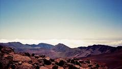 Haleakala (jcc55883) Tags: film filmphotography 35mmcanon35mm 35mmfilm oldfilm haleakala houseofthesun maui eastmaui eastmauimountains volcanic horizon sky hawaii