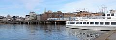 Stockholm - a city on water (bokage) Tags: sweden stockholm oldtown bokage gamlastan water boat transport bridge train