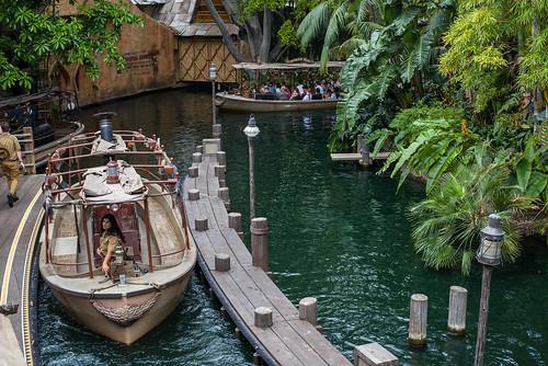 Jungle Cruise in Disneyland