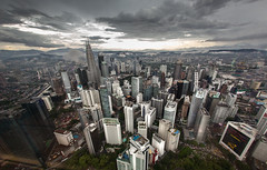 Kuala Lumpur, Malaysia (Sitoo) Tags: kualalumpur malasia malaysia southeastasia architecture asia city citycenter clouds cloudy defished landscape modern skyline skyscrapper