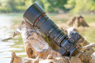 SONY a7II & Canon EF200mm ƒ/2.8L II USM on Metabones T Mark IV