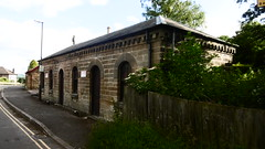 Former coal office, Bakewell station   (Monsal Trail)    June  2017 (dave_attrill) Tags: millers dale monsal trail station derby manchester buxton midland disused railway line trackbed footpath bridleway cycle path derbyshire peak district wye valley march 2017 winter closed 1968 barbara castle bakewell june coal office building
