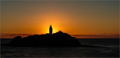 Godrevy Sunset (Explore! 03.07.17) (bretton98) Tags: cornwall photographycourse godrevy lighthouse bretton98 davidwhitephotography sunset landscape canon5dmkiii
