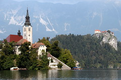 The Beauty Of Lake Bled (Alan1954) Tags: slovenia bled lakebled water holiday 2016 pletna platinumpeaceaward platinumheartaward
