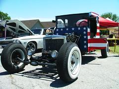 Ford (USA) Rat Rod (jHc__johart) Tags: 1926fordtruckchassis ratrod redwhiteandblue oklahoma plywood