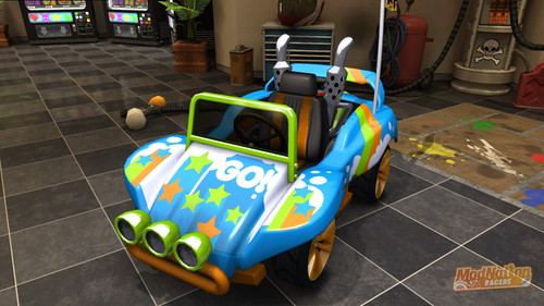 ModNation Racers - Buggy O'Hare