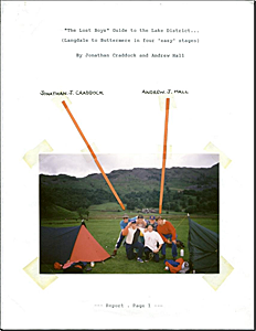 Expedition Report Cover