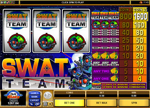 S.W.A.T. Team slot game online review