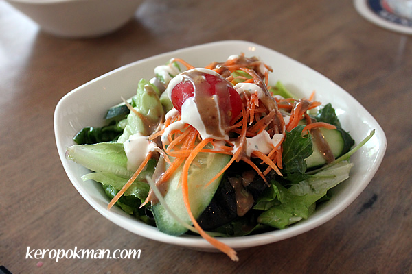 Kleiner Salat: Mixed salad