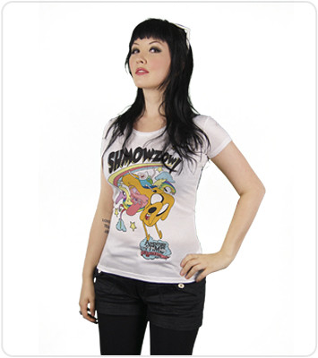 Adventure Time T-Shirt: Shmowzow!