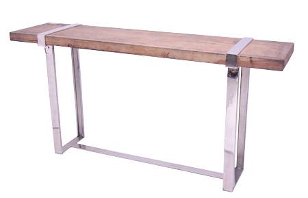 Reclaimed Teak Console Table ckeinteriordesign.com