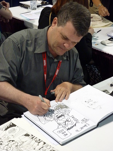 Peter Bagge - Fantagraphics at Comic-Con 2010