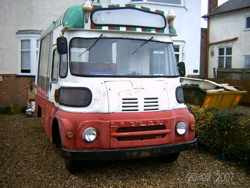 LEYLAND FG ICE CREAM VAN