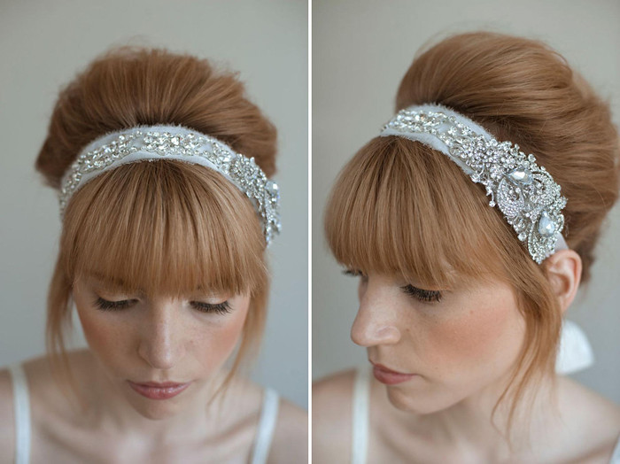 Wedding Head Pieces by Twigs & Honey