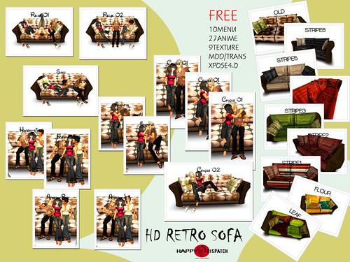 RETORO SOFA(web