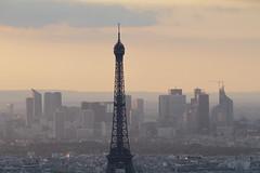 IMG_2851 (7D Samurai) Tags: sunset paris tower lowlight cityscape dusk eiffeltower eiffel toureiffel tourmontparnasse