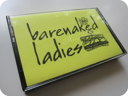 barenaked ladies demo tape cassette artwork cover