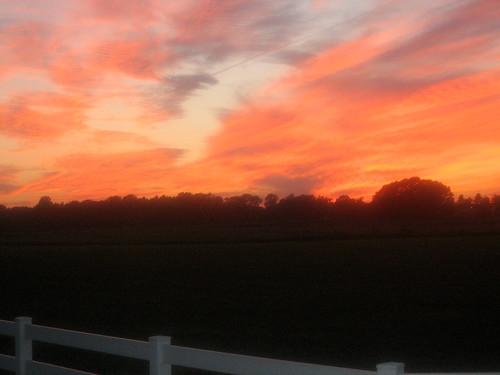 Lancaster sunset